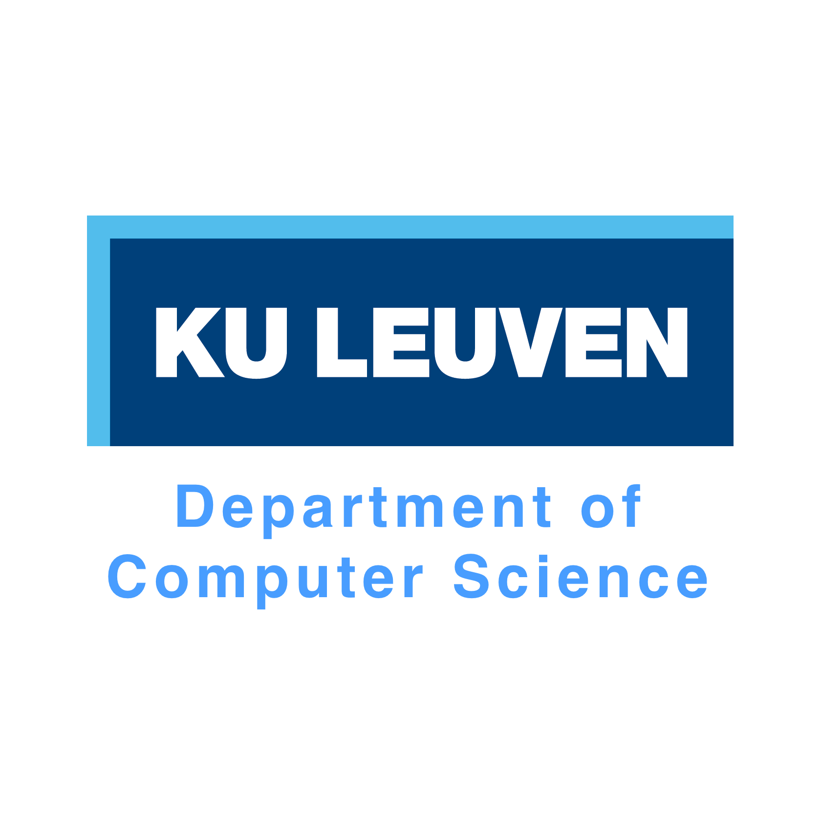 KU Leuven Department of Computer Science Logo